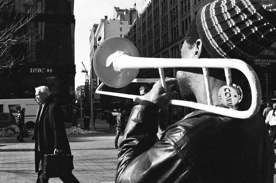 Guy with horn