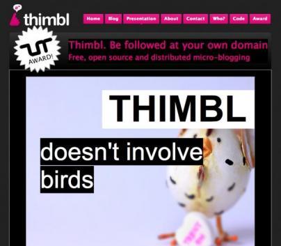 A free, open source, distributed micro-bloggin platform