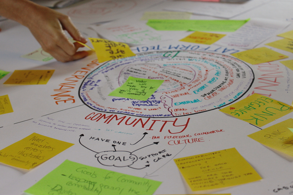 Care work, the Commons, Distributed Cooperative Organizations and Open Cooperativism